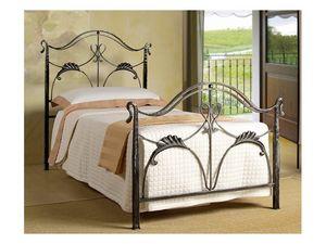 Ottocento Single Bed, Cama individual en estilo Art Nouveau, para uso residencial