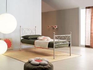 Vienna single bed, Cama individual en estilo Art Nouveau, hoteles elegantes