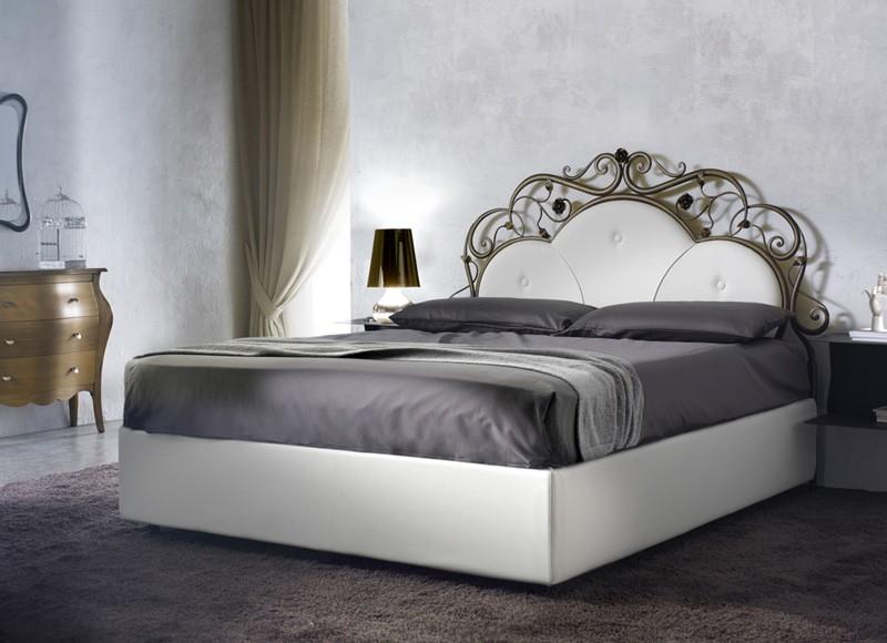 El hierro forjado cama de matrimonio, hechos a mano   IDFdesign