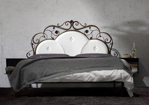 Virgo, El hierro forjado cama de matrimonio, hechos a mano