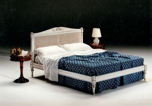 2605 cama, Cama con cabecera de caña de Viena