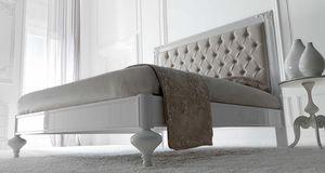 Linda Art. 907, Cama de madera con una refinada línea neoclásica