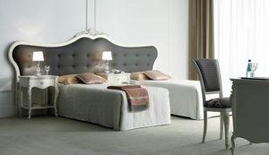 Lara, Cabecero tapizado para cama.