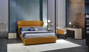 LE30 Mistral cama, Cama caracterizada por cabecero curvo y anatómico.