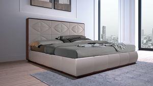 LEP14 Lux Chic cama, Cama caracterizada por la geometría de las líneas