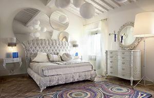Narciso cama, Cama tapizada, combinando modernidad y tradición