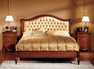 Alice cama, Cama en madera tallada a mano para el Hotel de lujo