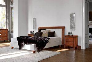 Vivre cama Art. 393, Cama con cabecero tapizado y estructura de la cama