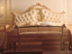 Art. 5900, Cama doble para el dormitorio, clásico, hoteles