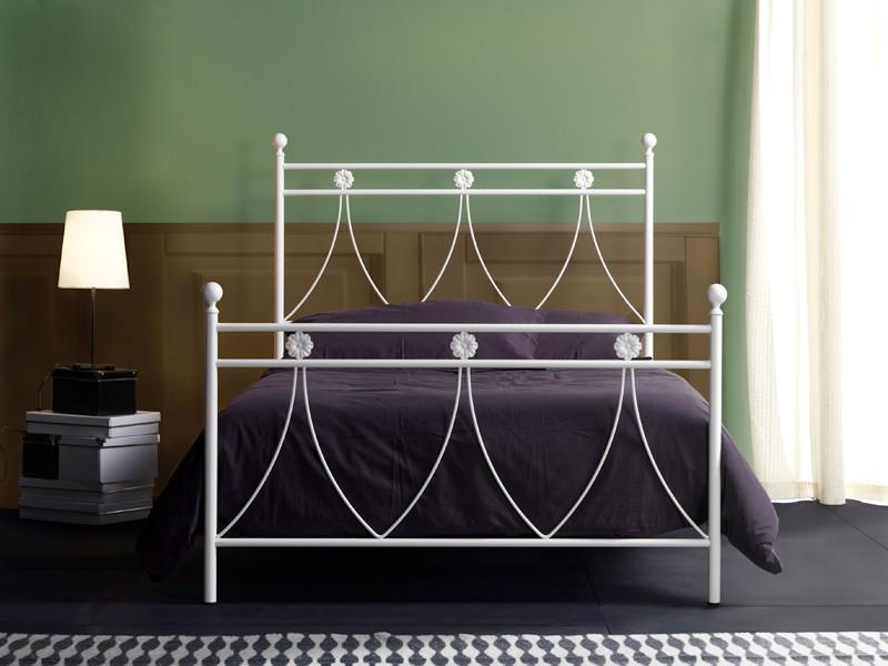 Cama de metal individual para los dormitorios clásicos | IDFdesign