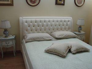 Gias, Cama clásica para habitaciones, con caja de almacenamiento