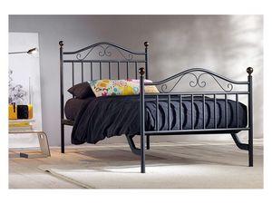 Giulia Single Bed, Hierro camas hechas a mano para el Hotel Room