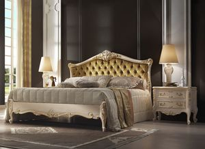 R45 / cama, Lujosa cama con estilo romántico