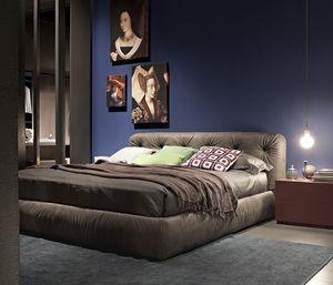 VITTORIA, Acolchada cama doble, acolchado, cubierta extraíble
