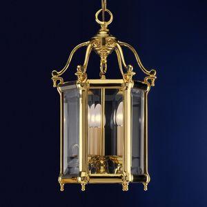 Art. 745/3, Linterna de latón con cristales extraíbles