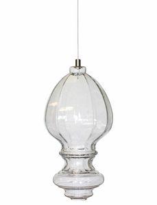 Ceraunavolta AC134 7S INT, Lámpara de vidrio con diseño clásico