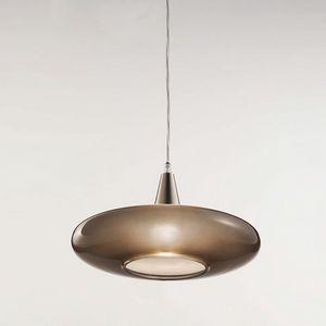 Forme Ls620-010, Lámpara en vidrio taupe satinado