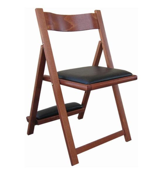 193, Silla en madera de haya, con un reclinatorio, para las iglesias