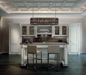 Fifth Avenue cocina, Lujosa cocina con isla