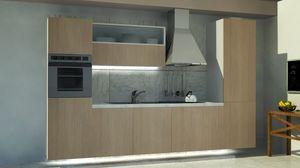 Oslo, Cocina compacta, con un diseño limpio