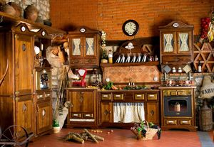 Art. 453, Cocina rústica con electrodomésticos