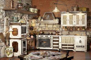 Art. 577, Cocina modular con electrodomésticos, encimera de acero
