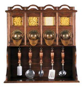 Art. 419, Armario colgante para cocinas rústicas.