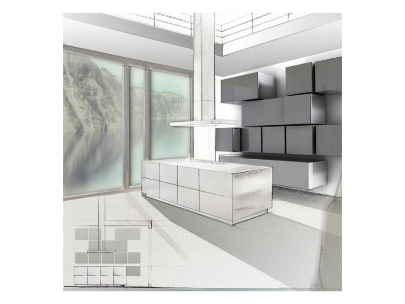 Trealcubo comp.06, Sistema modular para muebles