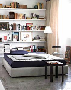 Maine, Contenedor doble y cama individual, con marco acolchado