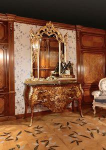 Art. 399, Pecho con incrustaciones de cajones para habitaciones de lujo, con espejo de oro