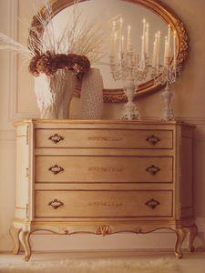 Art. 5335, Cofres lacada con adornos de oro para habitaciones de lujo