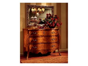 Florence chest of drawers 707, Lujo clásico de pecho de cajones para el dormitorio