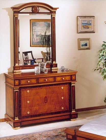 IMPERO / Chest of drawers, Cómoda con acabados de lujo, de estilo clásico