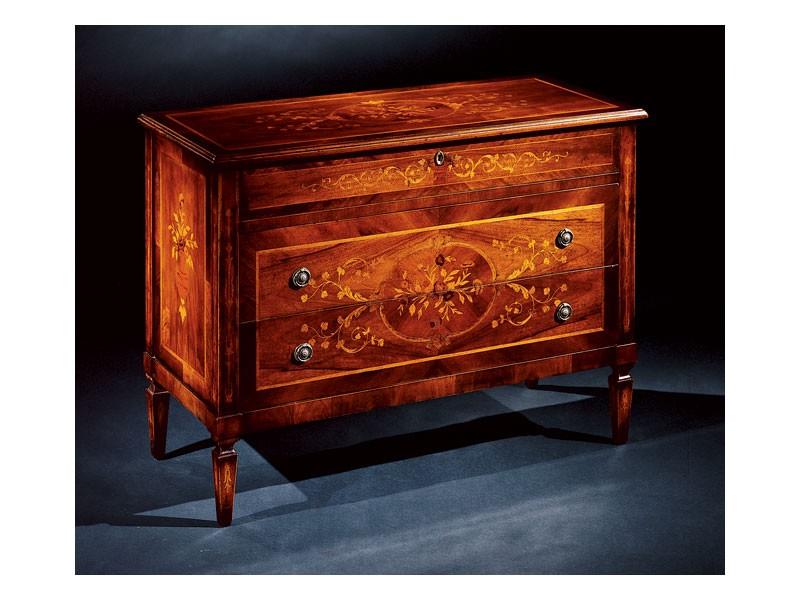 Maggiolini chest of drawers 701, Pecho clásico de lujo de cajones