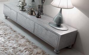 Keope Art. 413, Mueble bajo para sala de estar, con tres cajones