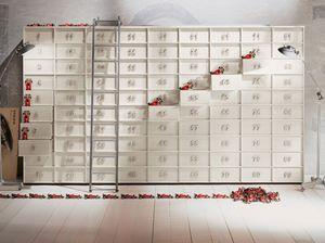 TOOLBOX comp.04, Contenedor modular con cajones para el hogar y oficinas