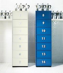 TOOLBOX comp.06, Mueble con cajones moderno para el hogar