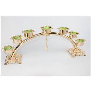 6005, Candelabros de estilo clásico para siete velas
