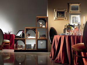 DV01 Dandy, Panel modular de madera, de estilo clásico y lujoso
