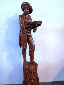 Art. 161, Estatua de madera en forma de pag