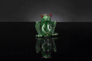 Prince Frog, Rana de cristal decorativa