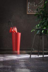 Umbrella, Sostenedor de paraguas de cuero rojo, disponible en otros colores