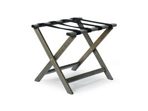 Bastidores D, Base de apoyo en madera de haya y cuero, plegable y duradero