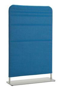 Belt pantalla, Pantalla de acero pintado y tela acolchada