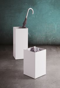 Design Collection paragüero, Soporte para paraguas en acero pintado, para oficina