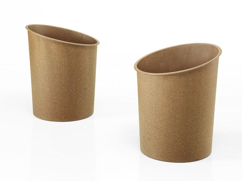Hi-Tech eco, La basura puede apilable en madera de fibra reciclada