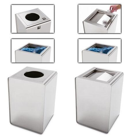 Prisma, Accesorios de acero utilizados como paragüeros, cestas o cajas de flores