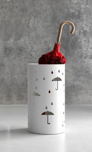 Rain paragüero, Paragüero en acero cortado con láser