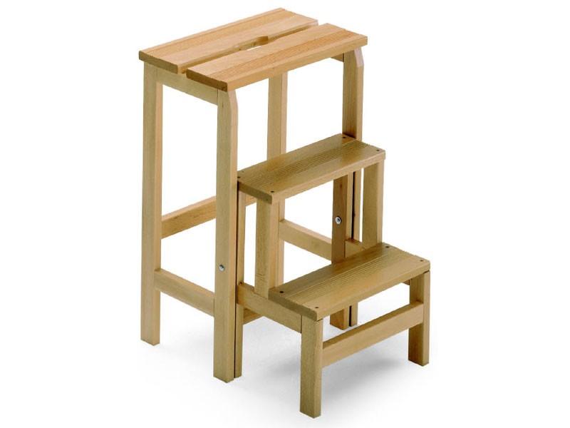 Scala 3, Escalera de mano hecha de madera de haya