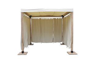 Venezia 849, Sencilla mirador de madera y directo con cubierta de tela